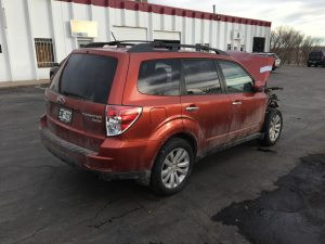 2011 forester right rear