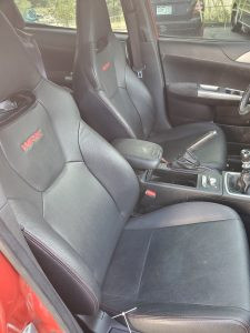 2008 STI hatch interior