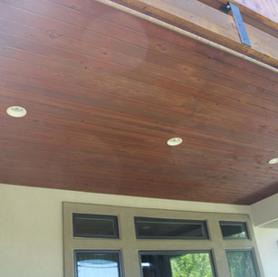home patio ceiling remodel