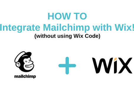 Easily Integrate Mailchimp with Wix (without using Wix Code)