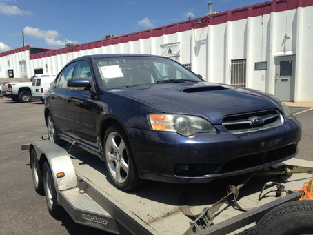 2005 Subaru Legacy GT sedan AT part out
