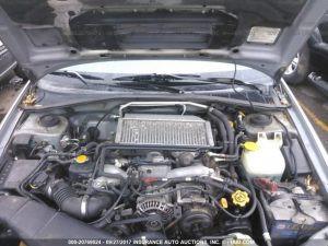 2005 Subaru wrx wagon engine bay