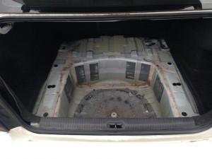 2006 Subaru Legacy GT trunk