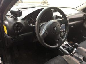 2007 WRX sedan interior