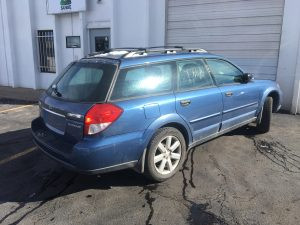 2008 Outback right rear