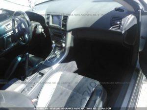 2005 Subaru Legacy GT interior