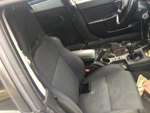 2004 Subaru WRX wagon interior