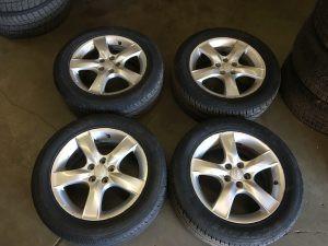 2006 Impreza sedan wheels and tires