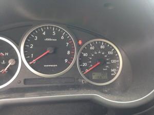 2004 Subaru WRX wagon cluster