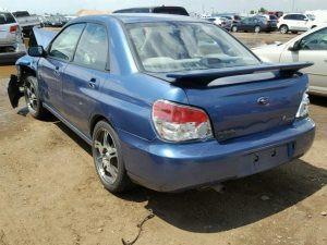 2007 impreza sedan left rear