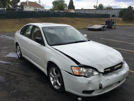 2006 Subaru Legacy 2.5I limited 146k Automatic White complete PART OUT