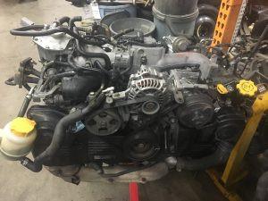 2005 WRX wagon engine