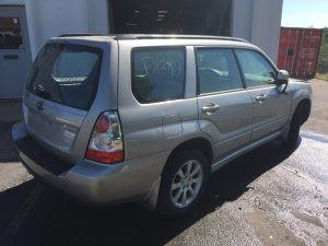 2007 Subaru forester right rear
