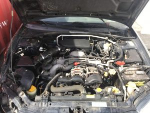 2007 Impreza wagon engine bay