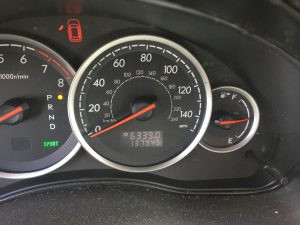 2006 Outback wagon cluster