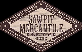 Sawpit Mercantile logo