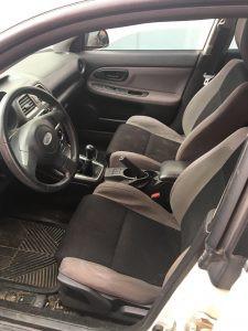 2006 Impreza wagon interior
