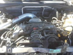 2005 Subaru RS sedan engine
