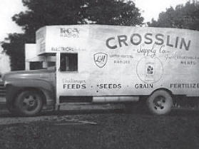 Crosslin Building Supply, Crosslin Building Supply Eagleville TN, Crosslin Truck