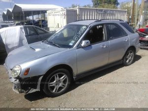 2003 Subaru WRX wagon left