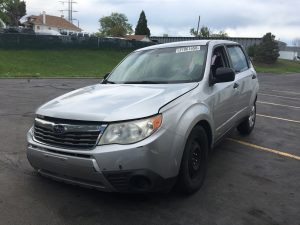 2009 forester front left