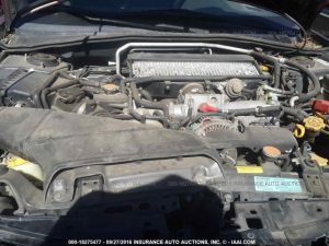 2006 Subaru WRX sedan engine