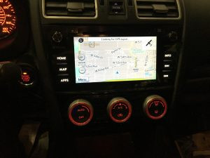 2016 Subaru WRX navigation and stereo