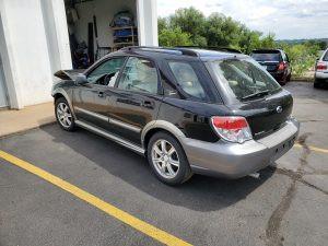 2007 Impreza wagon left rear