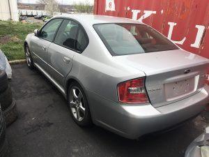 2005 Legacy Sedan rear left
