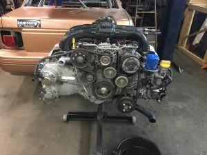 2013 Impreza engine