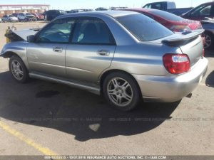 2005 Subaru RS sedan left