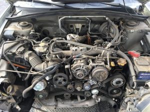 2005 Forester XT engine bay