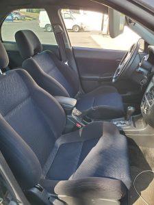2002 WRX sedan interior