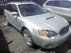 Subaru outback XT front right