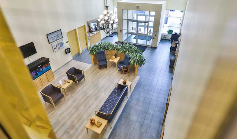 burton manor lobby