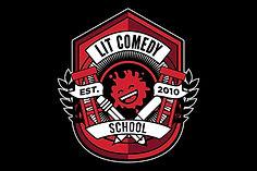 LIT comedy emblem