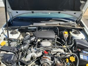 2006 Outback engine bay