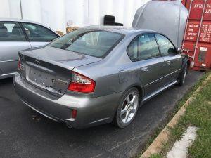 2009 Legacy sedan rear right