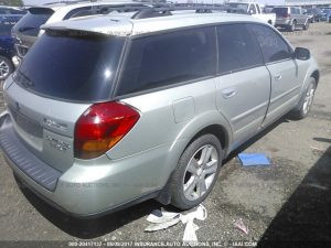 Subaru outback XT right rear