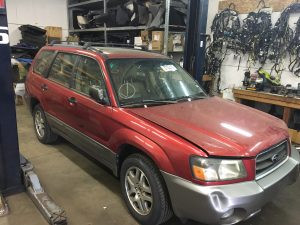 2005 Subaru forester front right
