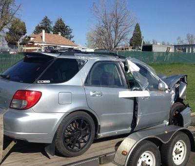 2002 Subaru WRX wagon MT