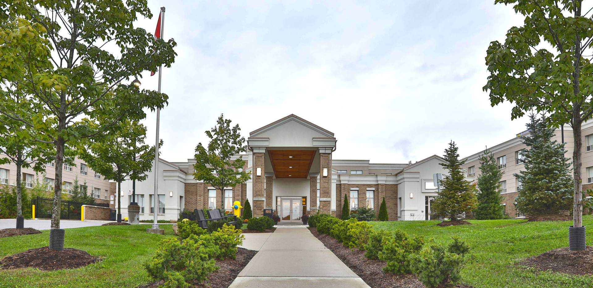 entrance to henley place assisted living facility