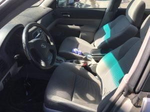 2007 Subaru forester interior
