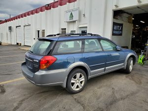 2005 outback xt rear right