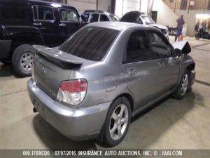 2007 Impreza 2.5i sedan RR