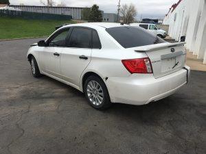 2008 impreza sedan rear left
