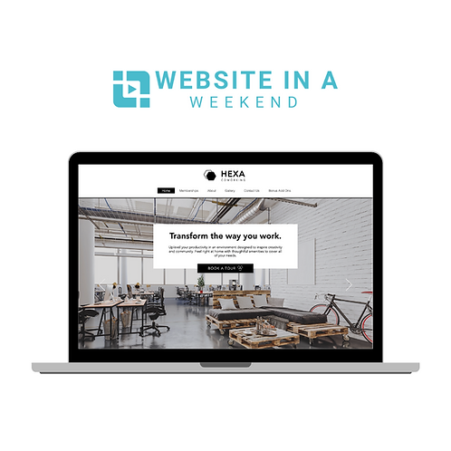 Website In A Weekend Template