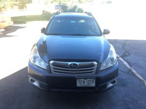 2011 Outback front