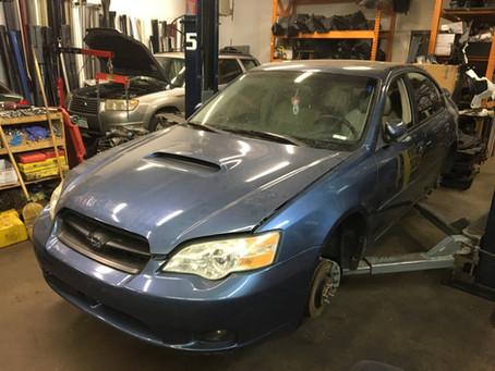 2007 Subaru Legacy GT 107k 5Speed M/T Newport Blue