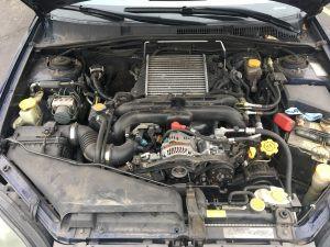 2005 Legacy GT wagon engine bay
